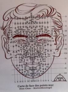 Carte des points BQC Dien Chan