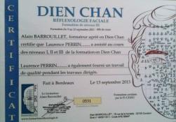 Certificat niveau 1 à 3 en réflexologie faciale