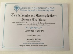 certificat access bar laurence perrin